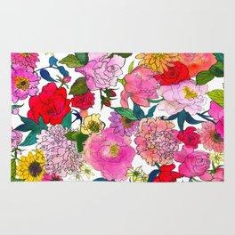 Peonies & Roses Rug