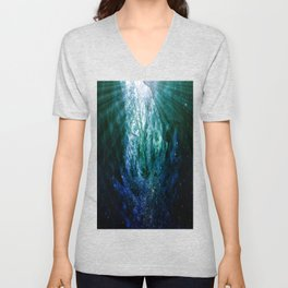 Mystic Tree of Life & Death Unisex V-Neck