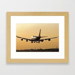 Thai Airways Boeing 747-4D7/ER Framed Art Print