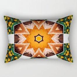 in the orange groves Rectangular Pillow