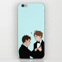 suits iPhone & iPod Skins featuring Suits! by Kukidou