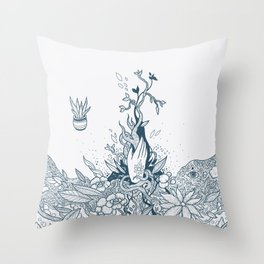 The Witch's Hand Throw Pillow