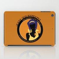 cowboy bebop iPad Cases featuring Bebop Faye by AngoldArts