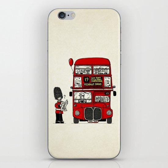 Lost in London iPhone Skin