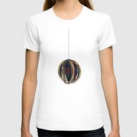 globe T-shirts featuring Bubble Globe by Khana's Web