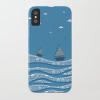 boats iPhone & iPod Cases featuring Boats by Matt Andrews