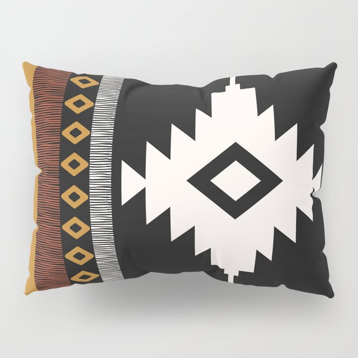 Pueblo in Sienna Pillow Sham