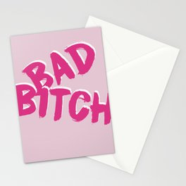 Bad Bitch Stationery Cards