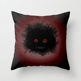 Lil monster Throw Pillow