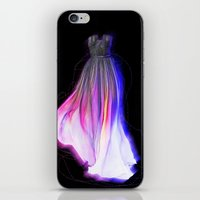 dress iPhone & iPod Skins featuring Dress by Veronika Ross