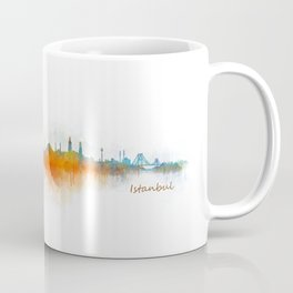 Istanbul City Skyline Hq v3 Coffee Mug