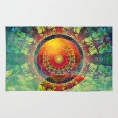 Gong Meditation Rug
