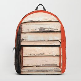 Worn Down Building Exterior Backpack