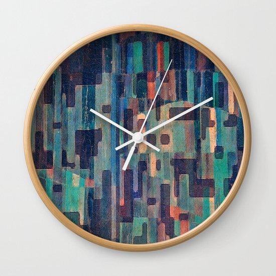 Night in the African Savannah Wall Clock