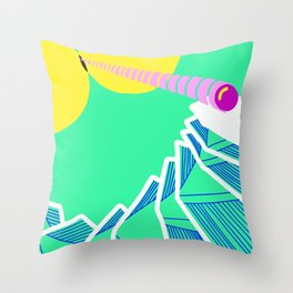 Where stuff comes from Throw Pillow