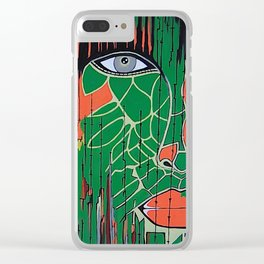 Nature's Night Watchman Clear iPhone Case