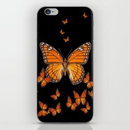 WORLD OF MONARCH BUTTERFLIES iPhone Skin