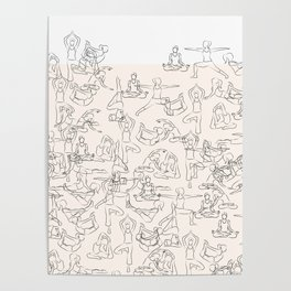 Yoga Manuscript Poster