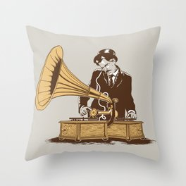 The Future In The Past Throw Pillow