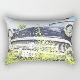 Cherries and Berries {Historic Cop Car} 1950's Buick  Rectangular Pillow