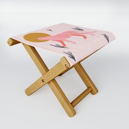 trot cat Folding Stool