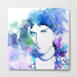 Freddie Metal Print