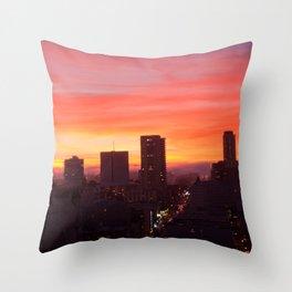 San Francisco Goodnight Throw Pillow