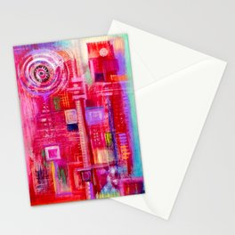 abstract #237 Stationery Cards