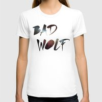 "dr who T-shirts featuring Dr. Who - ""Bad Wolf"" by Noal's Corner"
