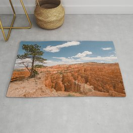 Inspiration Point Landscape at Bryce Canyon National Park Rug