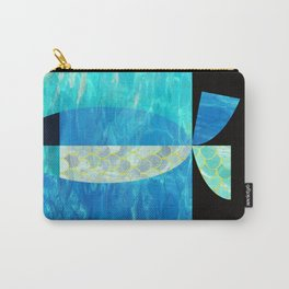 pool fish two step Carry-All Pouch