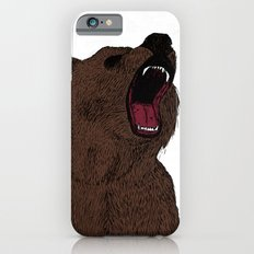 Hear my scream - Bear iPhone 6s Slim Case