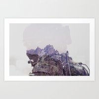 the national Art Prints featuring National Guard by PecDesign