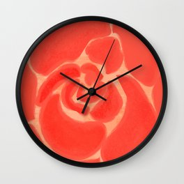 A Rose for Janie Wall Clock