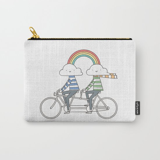 Love makes life a beautiful ride Carry-All Pouch