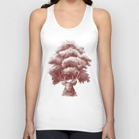 thrones Tank Tops featuring Old Growth  by Terry Fan
