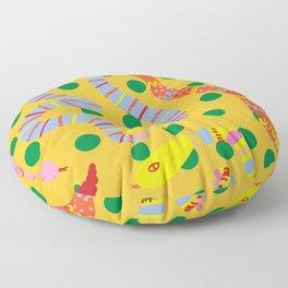 Polka Dot Snake Party Floor Pillow