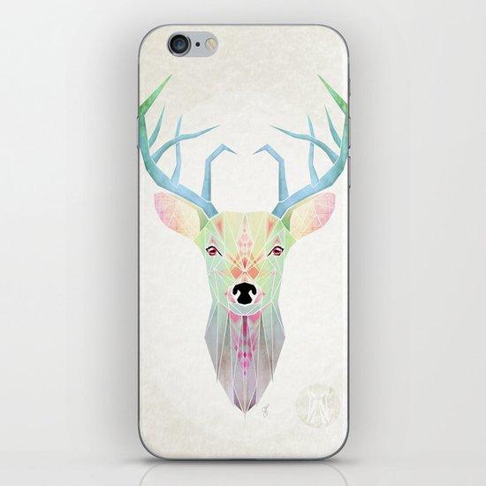 white deer iPhone & iPod Skin