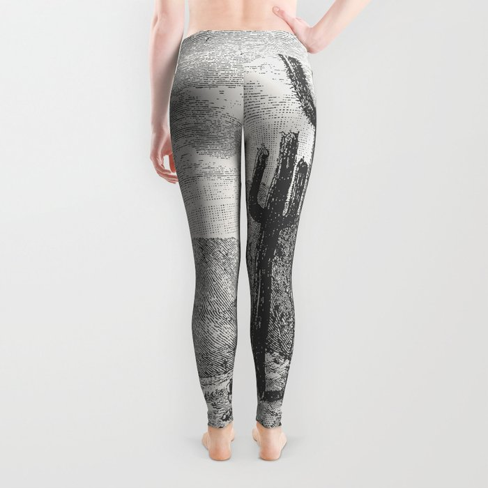 Cactus in Mountain Leggings