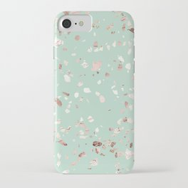 Minty Pink iPhone Case