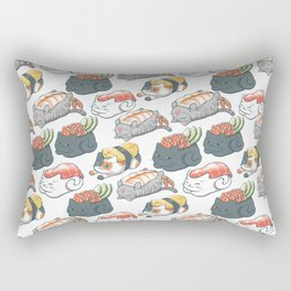 Sushi Cats Rectangular Pillow