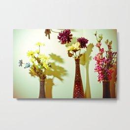 Floral everything Metal Print