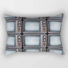 They Live TV Messages Rectangular Pillow