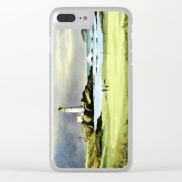 Turnberry Golf Course 10th Green Clear iPhone Case