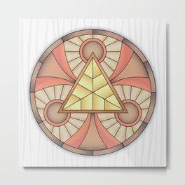 Mandala Abundance Metal Print