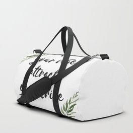 your vibe attracts your tribe Duffle Bag