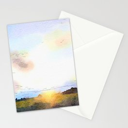 Dawn on the Road Stationery Cards