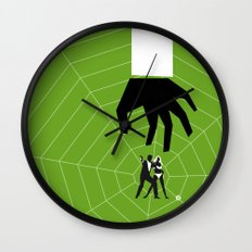 Green Dr No Wall Clock