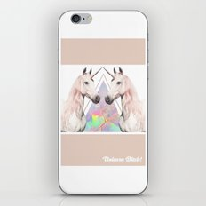 UNICORN BITCH! iPhone & iPod Skin