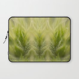 Cannabis Symmetry Abstract Laptop Sleeve